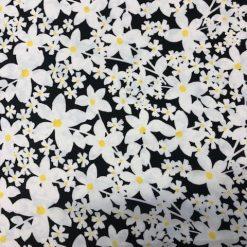 White Daisy Georgette