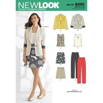 New Look Sewing Pattern 6035