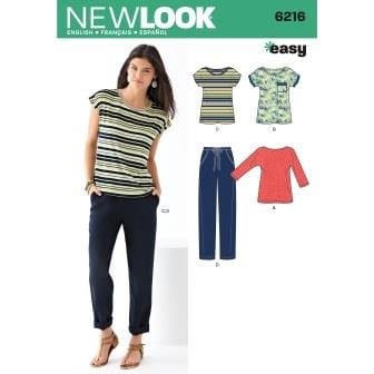 New Look Sewing Pattern 6216