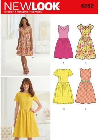 New Look Sewing Pattern 6262