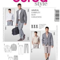 Menswear Sewing Patterns