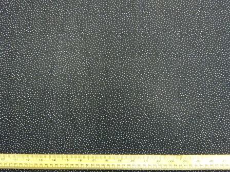 Georgette Fabric Random Tiny White Spot