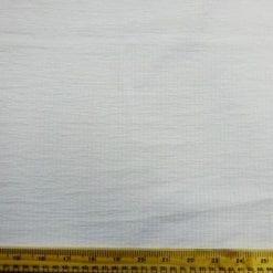 Seersucker Fabric White