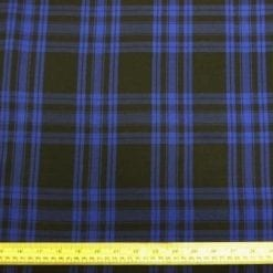 Brushed Cotton Fabric Mackenzie Hunting Tartan