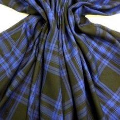 Brushed Cotton Fabric Mackenzie Hunting Tartan
