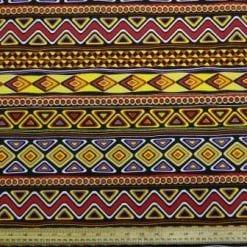 Cotton Canvas Fabric Zambeezee Vibes