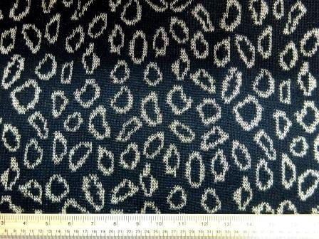 Jersey Fabric Chain Leopard