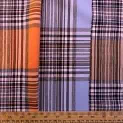 Tartan Suiting Fabric Happy Check