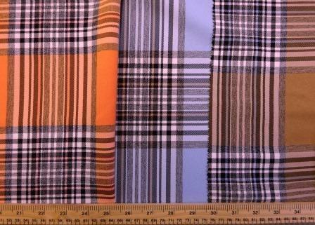 Tartan Suiting Fabric Happy Check