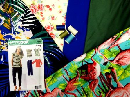 Short Sleeve T-Shirt Sewing Kit As Featured In Our Latest Video