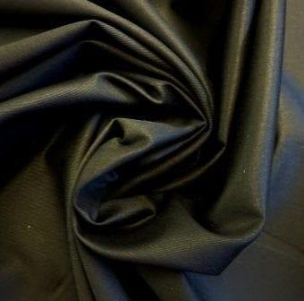 Black Poly Cotton Drill