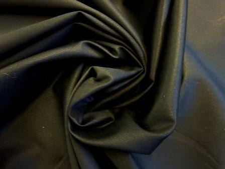 Cotton Drill Fabric 100% Cotton black