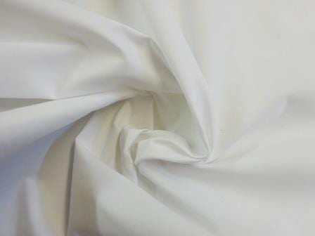 Cotton Drill Fabric 100% Cotton white