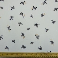 Georgette Fabric Bring Me Butterflies