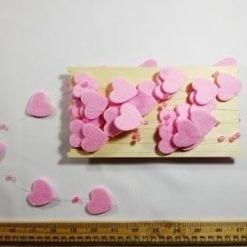 Heart Garland Pink