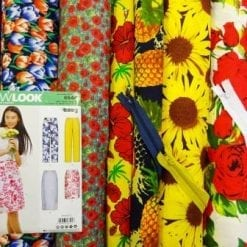 Cotton Knee Length Pencil Skirt Sewing Kit