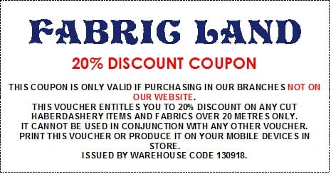 Fabric Land 20%