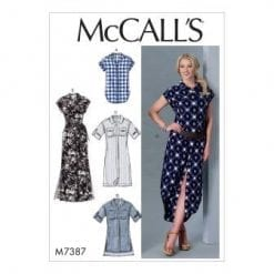 McCalls Sewing Pattern M7387
