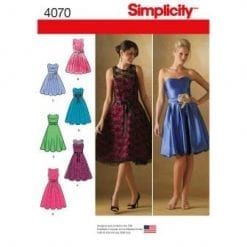 Simplicity Sewing Pattern 4070