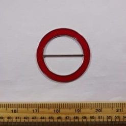 Enamel Coloured Buckle red