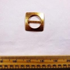 Gold Square Buckle
