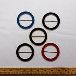 Enamel Coloured Buckles