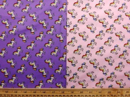 Cotton Print Baby Unicorns