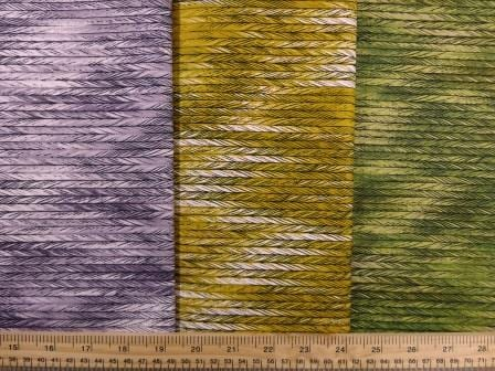 Cotton Fabric Bo Ho Herringbone