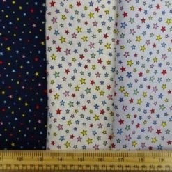 Cotton Fabric Baby Star Multi