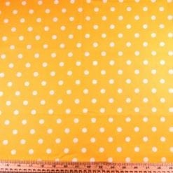 Cotton Printed Fabric Polka Dot Spot