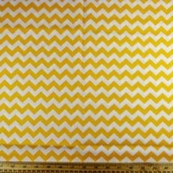 Cotton Printed Fabric Zig Zags