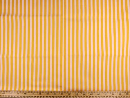 Cotton Fabric Striped yellow