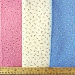 Cotton Fabric Tiny Ting Flowers