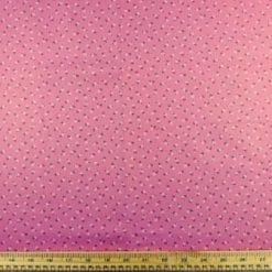 Cotton Fabric Tiny Ting Flowers pink