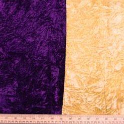 Velvet Fabric Creased