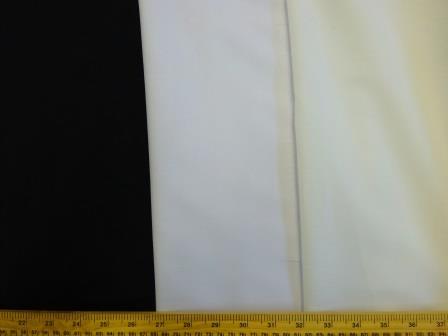 10 Metres Cotton Sateen Light Cream Curtain Lining Fabric