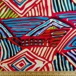 Viscose Fabric Tribal Freak