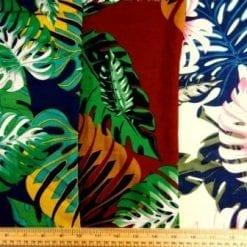 Viscose Fabric Club Tropicana