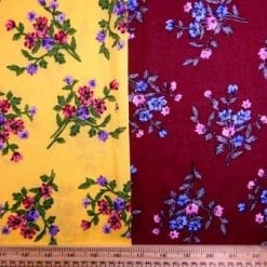 Viscose Fabric Flower Posie