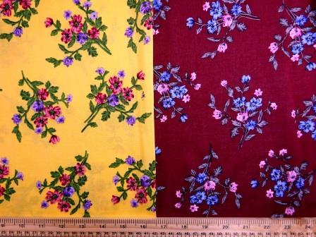 Viscose Fabric Flower Posie