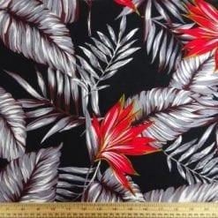 Viscose Fabric Ursula Leaf