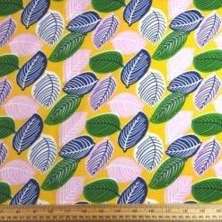 Viscose Fabric Sweet Leaves