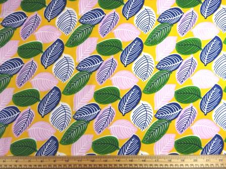 Viscose Fabric Sweet Leaves
