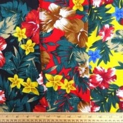 Viscose Fabric Honolulu Flower