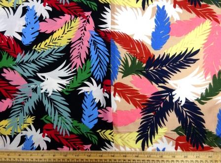 Viscose Fabric Chi Chi Leaf
