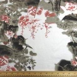 Linen Look Fabric Zen Garden