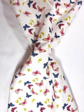 Cotton Print Fabric Butterfly Romance ivory