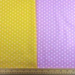 Cotton Print Fabric Percy Pea Spot