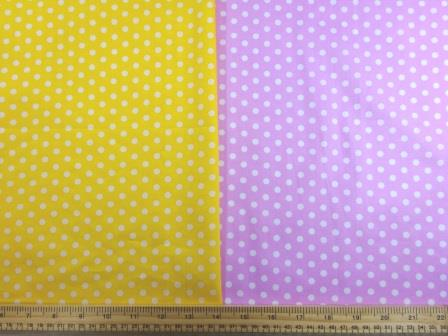 Cotton Print Fabric Percy Pea Spot