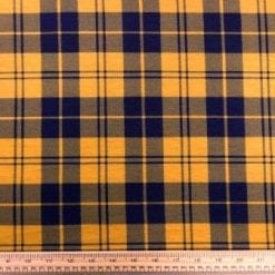 T-Shirting Fabric Mc Ryan Tartan mustard